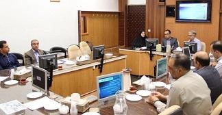 بازدید مدیر کل محترم دفتر فنی و نظارت شبکه انتقال شرکت توانیر